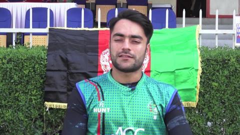 Afghanistan's Rashid Khan looks forward to the ICC World Cup Qualifier 2019