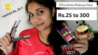 What's New in Affordable with Mini Review | Affordable Makeup rs. 25 to rs 300 | Nidhi Katiyar