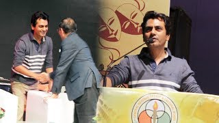 Nawazuddin Siddiqui At Closing Ceremony Of GST Cultural Meet
