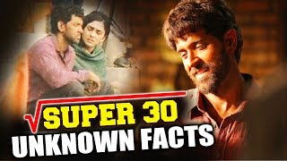 Hrithik Roshan SUPER 30 | UNKNOWN FACTS | Mathematician Anand Kumar Biopic