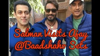 Sultan Meets Sultan Mirza On The Sets Of Baadshaho