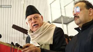 I stand by PoK remark: Farooq Abdullah