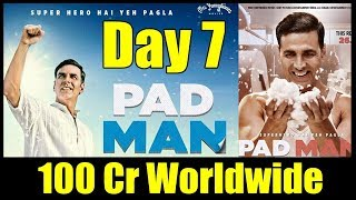 Padman Worldwide Collection Day 7 I Crosses 100