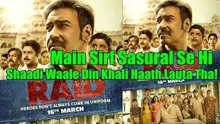 Raid Movie New Poster I Ajay Devgn