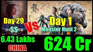 Monster Hunt 2 Vs Secret Superstar Collection In