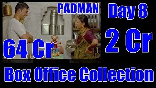 Padman Box Office Collection Day 8 Trade