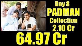 Padman Box Office Collection Day 8