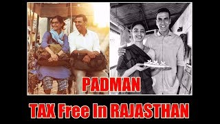 Padman Is Now Tax Free In Rajasthan