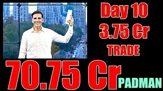 Padman Box Office Collection Day 10 TRADE