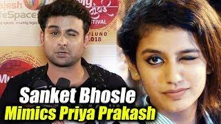 Sanket Bhosale TRIES WINK Like Priya Prakash Varrier But FAILS