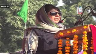 Mehbooba Mufti asks passing out cops to sensitively deal J&K situation