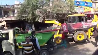 Anti-Encroachment drive carried out in Udhampur