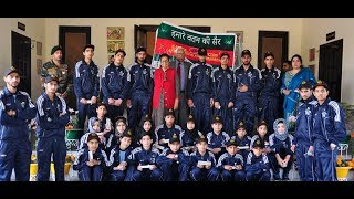 J&K Governor and First Lady host Kupwara students on completion of their Capacity Building Tour