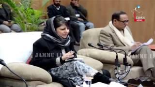 Public outreach: CM Mehbooba Mufti reaches Kishtwar
