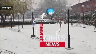 Dry spell ends, Srinagar gets season's first snowfall