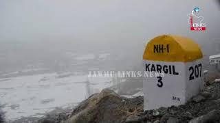 Heavy snowfall in Kargil, normal life disrupted