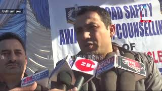 "MVD organises ""Road Safety"" awareness cum counselling camp in Udhampur"