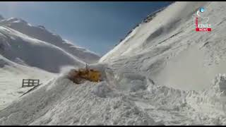 Snow clearance operation launched on Srinagar-Leh highway