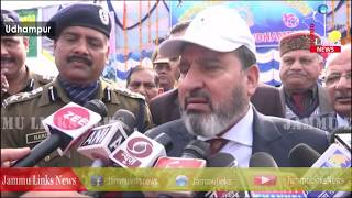 Sports act as greatest motivator for youth: Altaf Bukhari