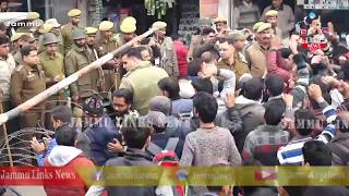 SBM employees stage protest in Jammu