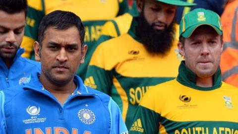धोनी है हार की वजह - साउथ अफ्रीका के कप्तान ने दिया अपना बयान