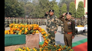 BSF pays tributes to jawan martyred in Pakistani firing