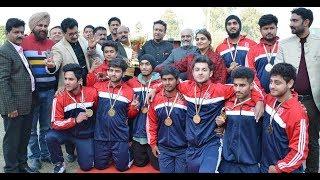 Jammu University wins 2nd All India Inter-University Rollball (M) Tourney