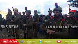 ASI martyred in Sopore blast buried with state honours in Bhaderwah