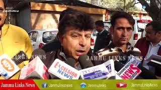 Relief holders, over aged youth protest in Jammu