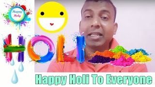 Happy Holi To All Bollywood Crazies Friends
