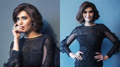 Glamorous Photoshoot Of Karishma Tanna Brand Ambassador For Kolkata Diamond Poker