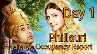 Phillauri First Day Opening Report