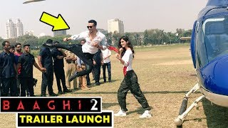 Baaghi 2 Action Stunt LIVE | Tiger Shroff, Disha Patani | Baaghi 2 Trailer Launch