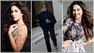 Amitabh's job application to work with Deepika Padukone, Katrina Kaif