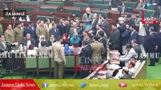 Uproar in J&K assembly over civilian killing, Opposition Staged walkout