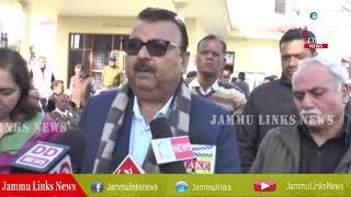 Ganga distributes compensation among victims of border firing
