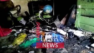 Shop gutted in devastating fire in Kashmir