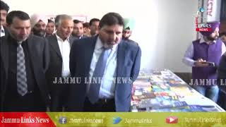 Altaf Bukhari inaugurates book fair