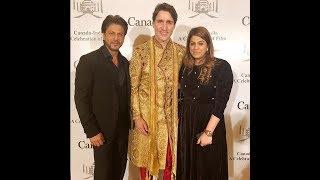 Shah Rukh Khan meets Canadian PM Justin Trudeau