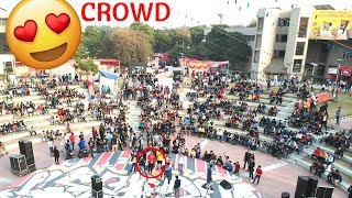 GAURAVZONE MADE HISTORY IN INDIA | DRONE SHOT | MEETUP 2018