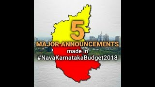 Karnataka Budget 2018 | 5 Major Announcements