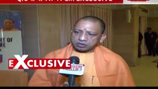 india voice exclusive interview with up cm yogi adityanath
