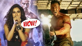 Disha Patani Reaction On Tiger Shroff's ACTION STUNT In BAAGHI 2