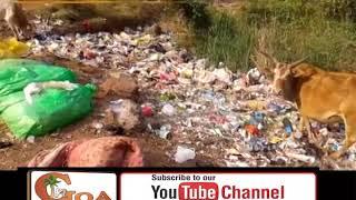 Muslimwada-Ponda roadside turns into garbage dump
