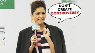 Sonam Kapoor GETS ANGRY On Reporter, I Expect Women To Support Other Women