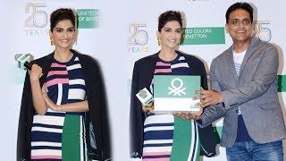 Sonam Kapoor At Benetton 25 Years Of Heritage And Values In India
