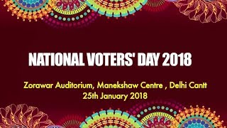 National Voters' Day 2018