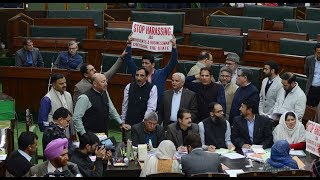 Opposition stages walkout from J-K Assembly on student's assault in Haryana