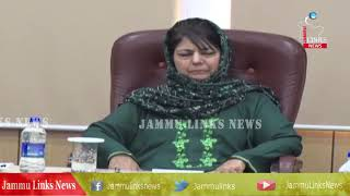 Mehbooba Mufti reviews progress of work of education, technical institutes