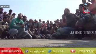 Jammu-Pathankot National Highway blocked at Samba